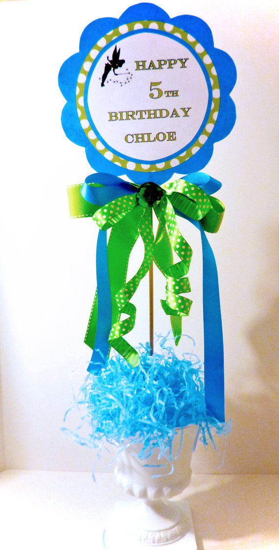 Tinkerbell pixie welcome door sign cake topper digital for Tinkerbell fairy door