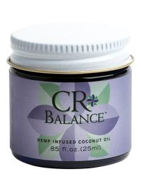Hemp-Infused Coconut Oil - CR Balance 125 mg - Our hemp-infused, broad spectrum coconut oil, CR Balance, works as a natural supplement to your daily diet.  CR Balance is made with the whole hemp plant, then tested to ensure +85% concentration of CBD and a significantly low THC content. #CoconutOil #CBD #CBDOil #HempInfused #HempCBD