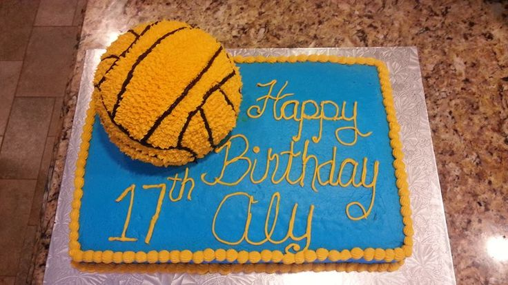 17 Best Images About Cake Ideas On Pinterest Water Polo