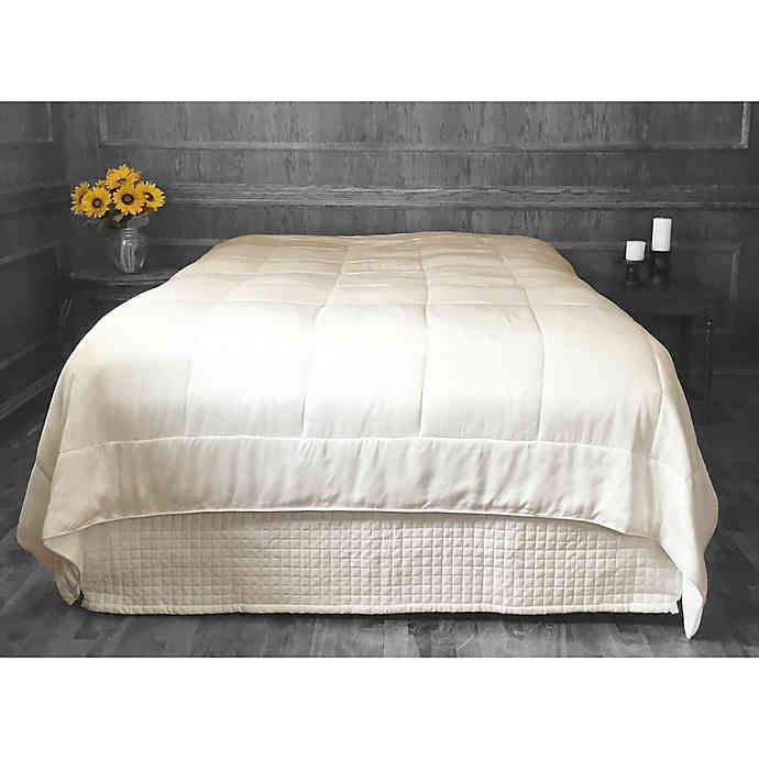 Natural Home Bamboo Filled Duvet With Rayon From Bamboo Cover In