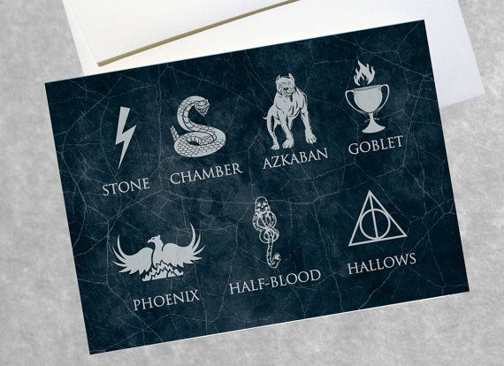 Harry Potter Greeting Card 5 X 7 Birthday Gift Holiday