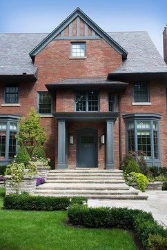 exterior paint colors with red brick trim design ideas pictures remodel and decor