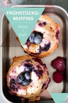 Gesunde Muffins für Kindergarten und Schule – lecker mit wenig Zucker // Werbung