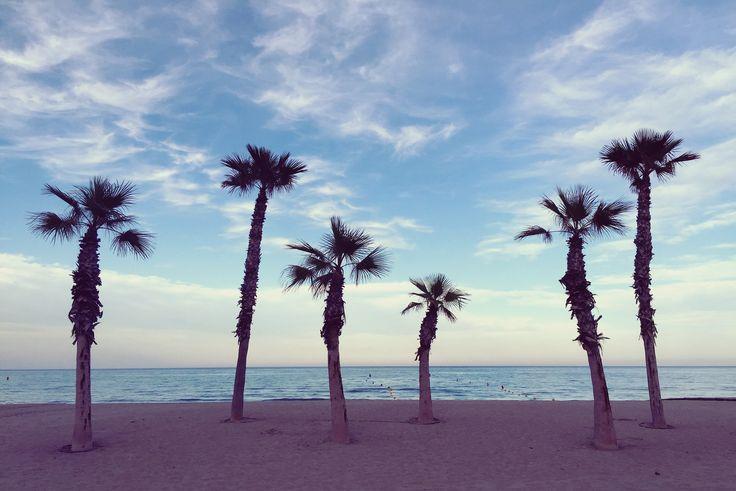 Atardecer en la playa de San Juan #Alicante #MifotoAlicante #CostaBlanca