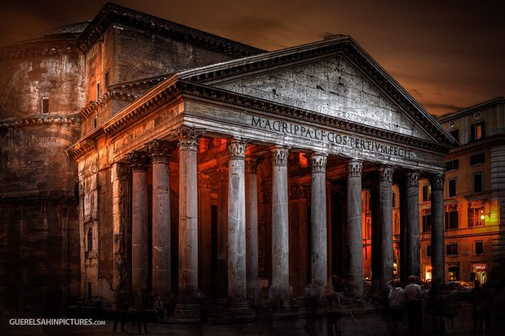 Photo The Pantheon by guerel sahin on 500px