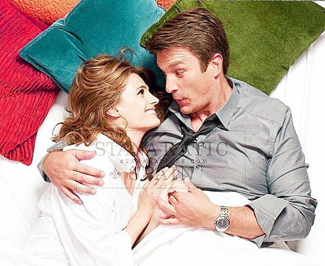 | look guys I REALLY LOVE KRIS AND STANA I DO TRUST ME BUT HUH LOOK AT THOSE TWO THEY ARE SO FREAKIN ADORABLE