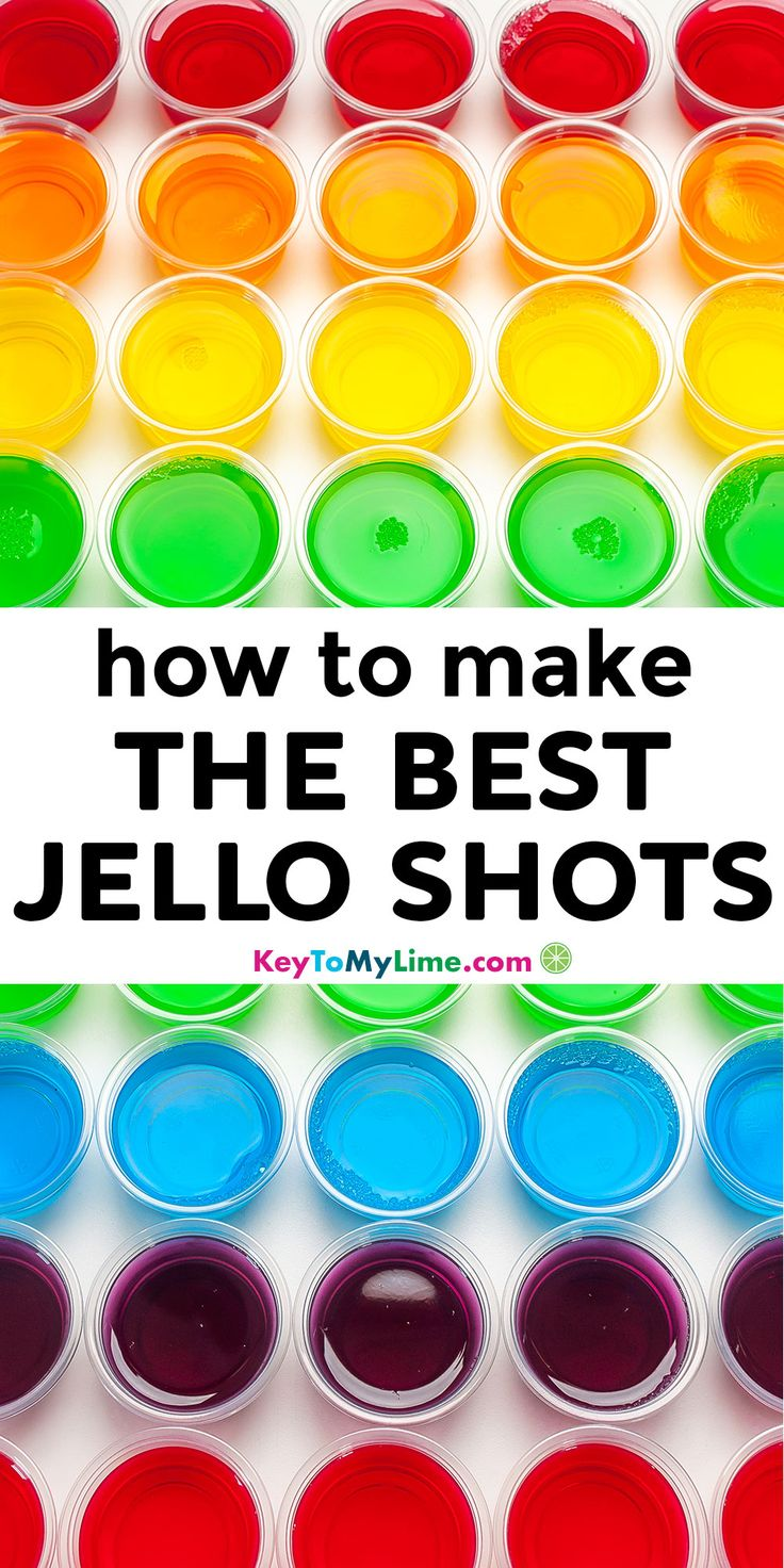 How to make jello shots easy vodka jello shot recipe key