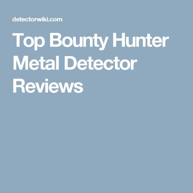 Top Bounty Hunter Metal Detector Reviews