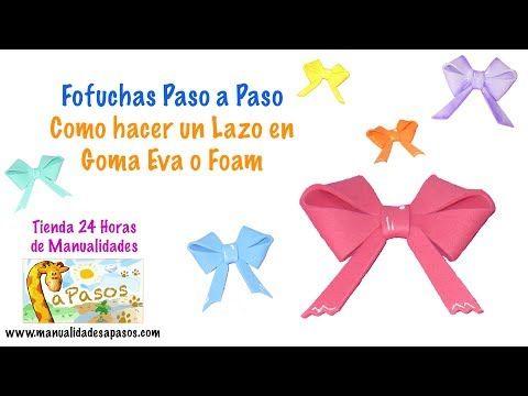 Moño decorativo RE FACIL! - Manualidades para todos - YouTube