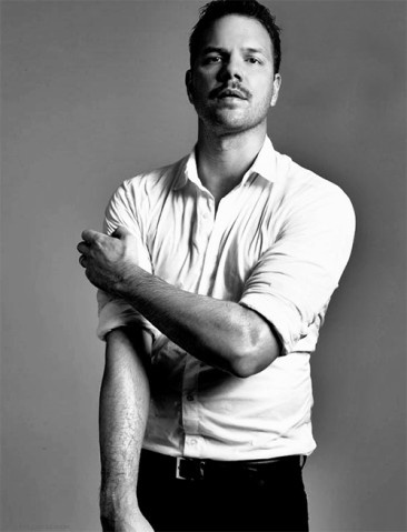 Jim Parrack..or Hoyt in True Blood. Also really good looking.
