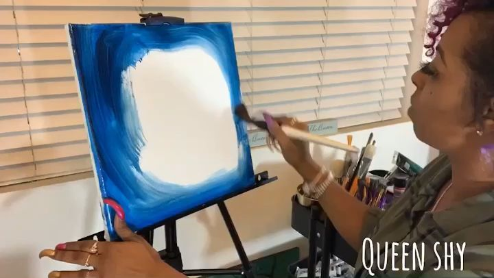 Galaxy Painting Time Lapse Is Now Uploaded To My Channel