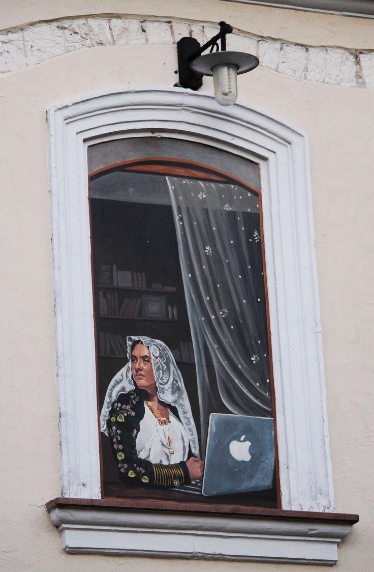 Sardegna Thiesi SS murales #TuscanyAgriturismoGiratola