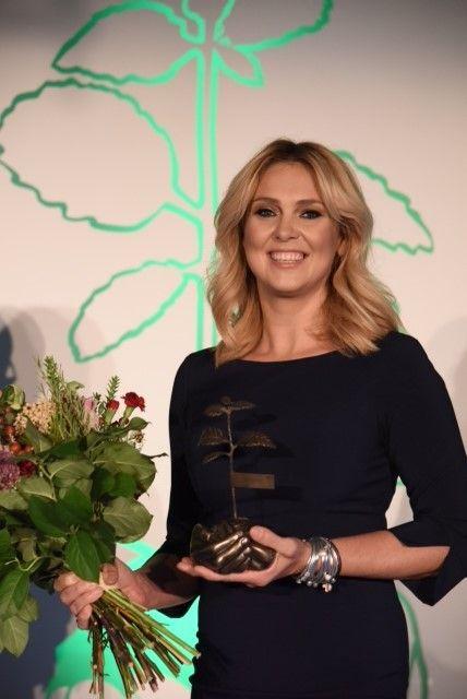 Ewa Wachowicz na gali Herbapolu w naszej bransoletce :) #bydziubeka #jewellery #jewelry #fashion #style #look #ootd #celebrity #stars