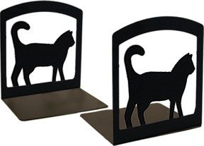 #Cat #Bookend #Sets #Home #Office #Decor (Set of 2) FIND IT HERE: http://www.okdecor.com/apps/search?q=cat