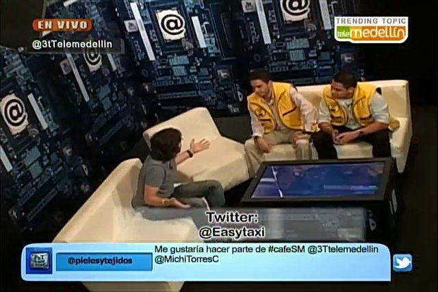 Desde el minuto 16, comparto sobre #CaféSM en el programa 3TTM de Telemedellín