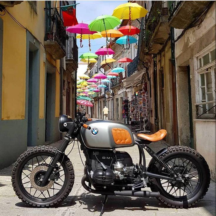BMW R100 von @banditgarageportugal Folgen Sie uns @gentlebikers für die besten Motorräder auf IG
