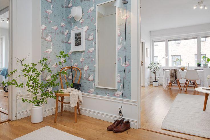 шведский дизайн интерьера прихожей