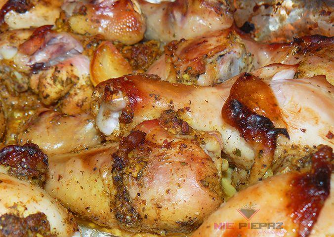 Pałki z kurczaka, pieczone w piekarniku
