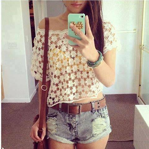 A hot summer days.  ♥