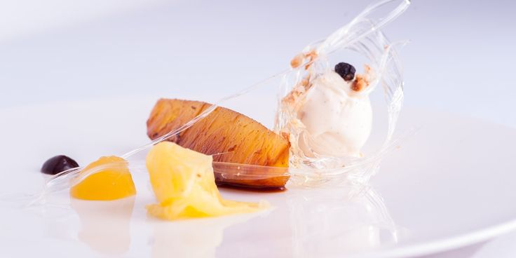 This stunning sous-vide pineapple recipe from Nigel Haworth is infused with warming rum, zingy lime and soothing vanilla for a perfectly balanced dessert.
