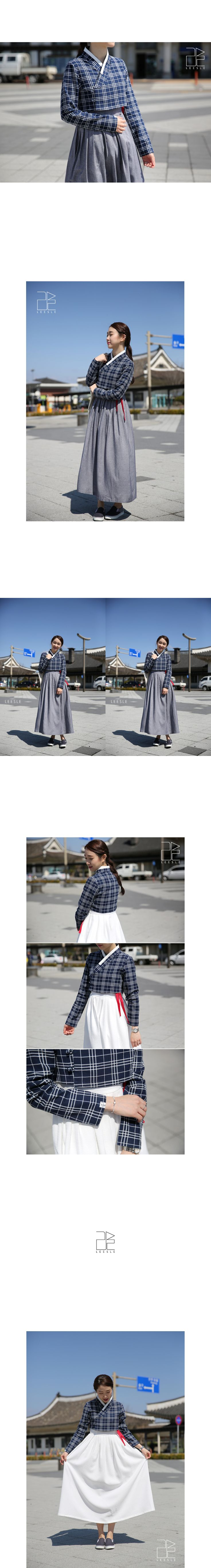 Casual design Hanbok from Leesle of Sonjjang Hanbok