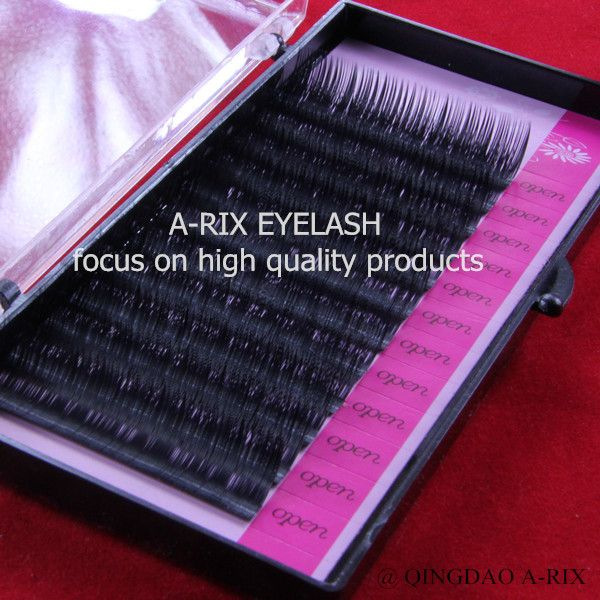0.20*J 1pc/lot  10/15mm free shipping  top sell soft high quality A-RIX mink silk eyelash extension individual lash #Affiliate