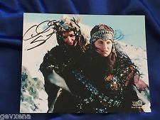 RARE Alti (Claire Stansfield) & Xena SIGNED Photo
