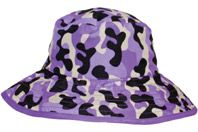 Purple Camo Reversible sunhat, $29.99 - two sunhats in one!
