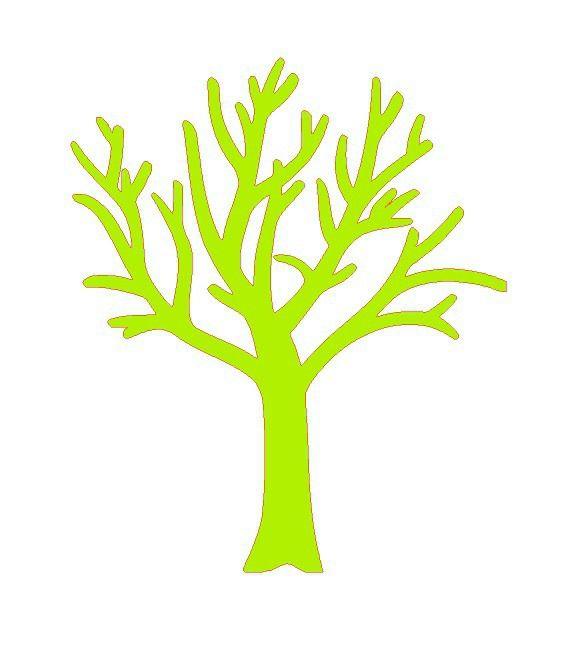 découpe arbre pour scrapbooking carterie.... : Embellissements par didine45