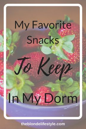 My Favorite Snacks I Keep In My Dorm Room Part 51