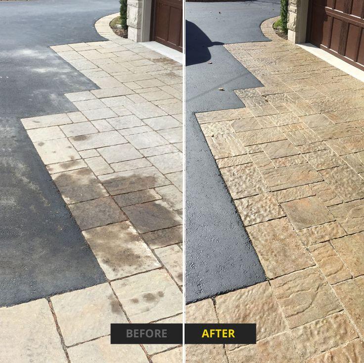 The 25 best asphalt sealing ideas on pinterest driveway sealing interlock and asphalt sealing before and after solutioingenieria Choice Image
