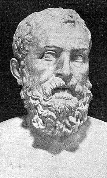 Solon (c. 640 – c. 560 BCE) was an Athenian statesman, lawmaker, and poet, who is credited with restructuring the social and political organisation of Athens and thereby laying the foundations for Athenian democracy. Such were his accomplishments that, in later centuries, he became a sort of semi-mythical founding father figure who had set Athens on the path to the glory and prosperity the city enjoyed in the Classical period. (Article by Mark Cartwright) -- AHE