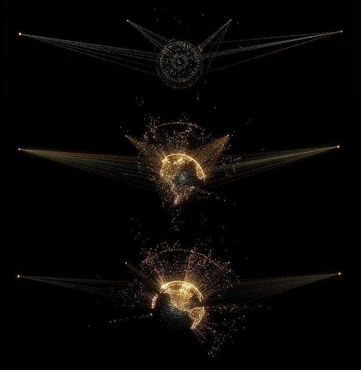 Tron UI Design. Bradley Munkowitz. (UI, Holographics, CG, Film)