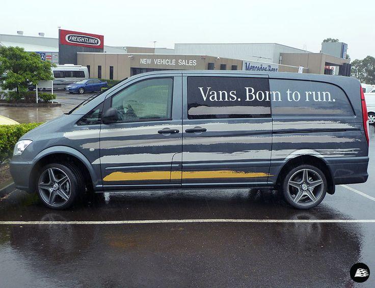 Mercedes Benz Campaign |  Vans. Born to run.  #vito #mercedesbenz