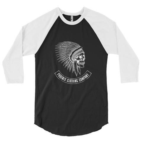 3/4 Spirit Skull Raglan Shirt
