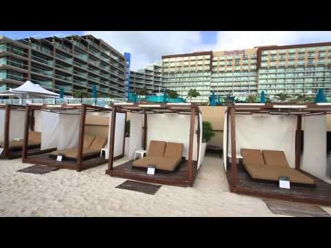 Hard Rock Hotel Cancun - YouTube - going here in 2 months!!!!!!!
