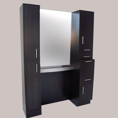 full working station styling stations salon furniture equipment at wholesale price toronto