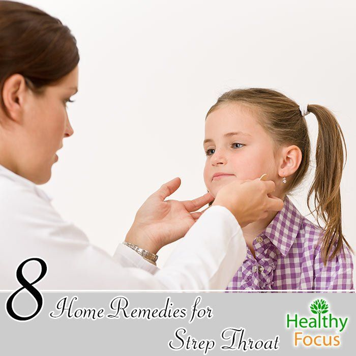 Home Remedies for Strep Throat Include : Garlic, Apple Cider Vinegar, Sage, Cinnamon, Honey and Lemon, Cayenne Pepper and Chamomile Tea.