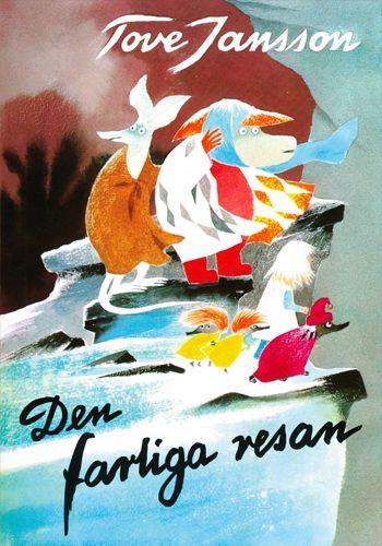 1977 Den farliga resan publiceras. Boken är en bilderbok för barn och boken handlar om Susannas, Hemulens, Ynk von Jämmerlunds och Tofslan och Vifslans mardrömsresa genom Mumindalen.