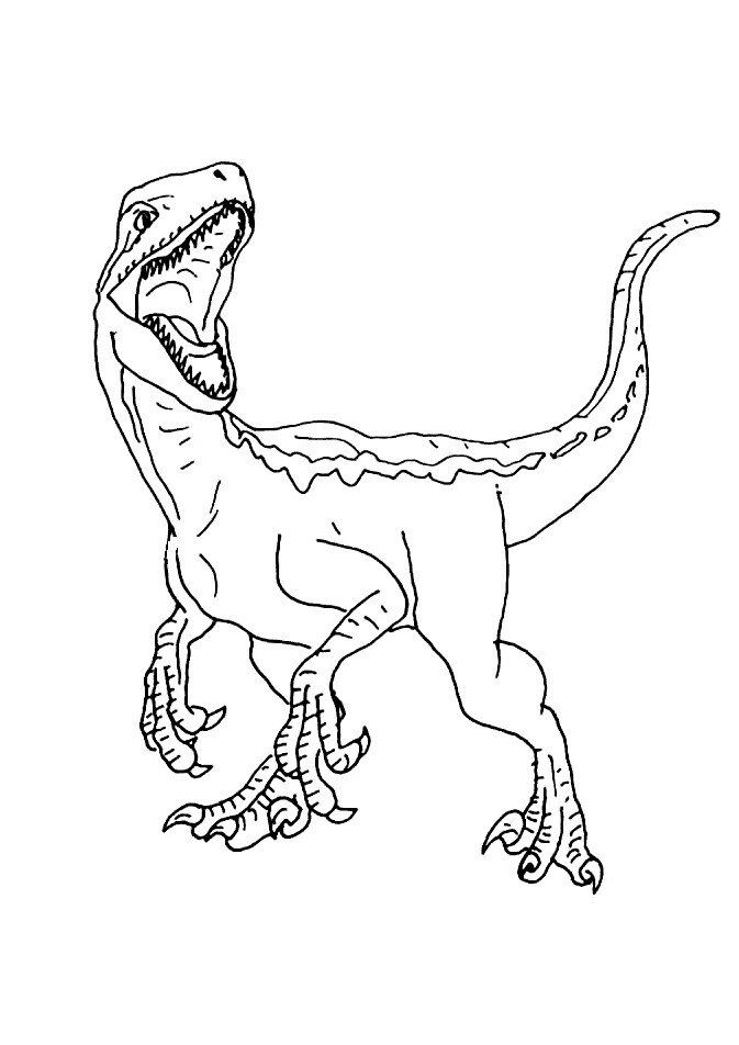 Jurassic World Coloring Pages Jurassic World Movie Dinosaur Coloring Pages Print Color Craft Dinosaur Coloring Pages Dinosaur Coloring Blue Jurassic World