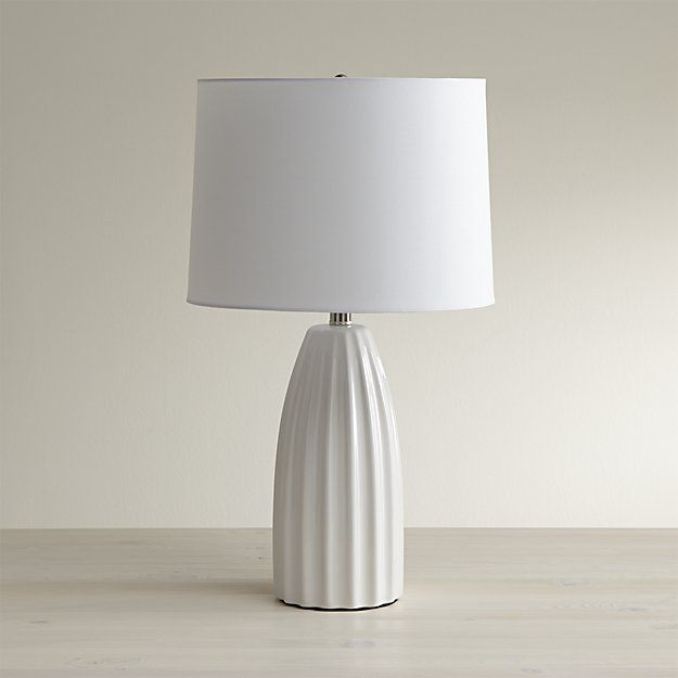 Best 25 White Table Lamp Ideas On Pinterest