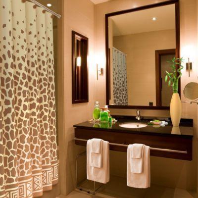 Giraffe Print 70-Inch x 72-Inch Shower Curtain - BedBathandBeyond.com