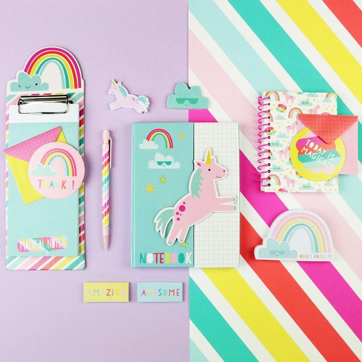 New Uniquely Unicorn #KidsStationery is now sold online at Target. Shop it! #crafts #diy #paper #kids