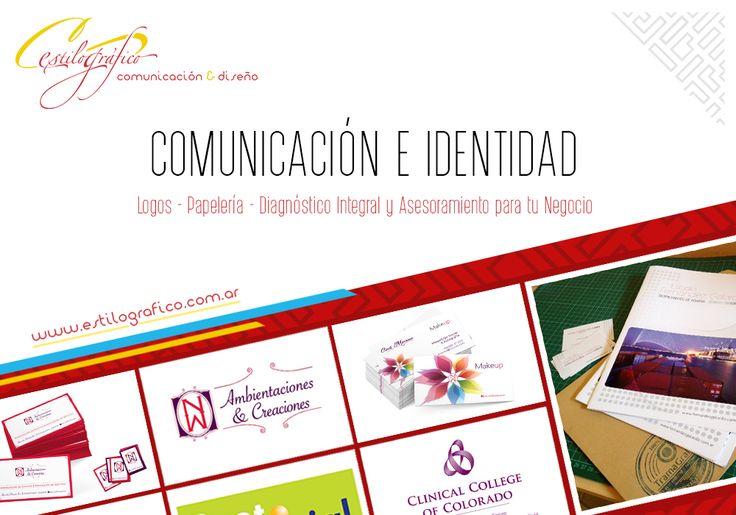 Hacemos realidad la #imagen de tu empresa integrando todos los elementos que serán relevantes para tu #comunicación.  Ideamos un #logo con el concepto de tu #marca y #diseñamos las piezas que lo acompañarán.