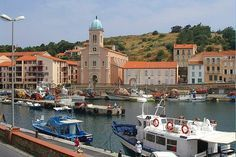 Fishing is an integral part of Port-Vendres, Pyrenées-Oriental, and the return of the fishing boats and landing of fish on the harbour is a sight that should not be missed.
