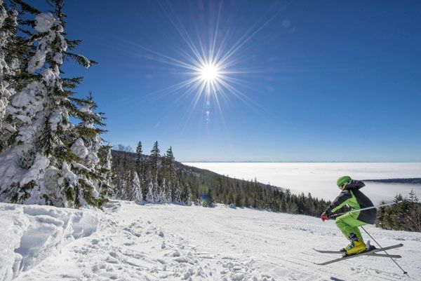 #Skispaß mit #Weitblick im #Mühlviertel. Alle Infos zu #Skifahren im #Granithochland unter www.muehlviertel.at/skifahren ©Oberösterreich Tourismus/Erber