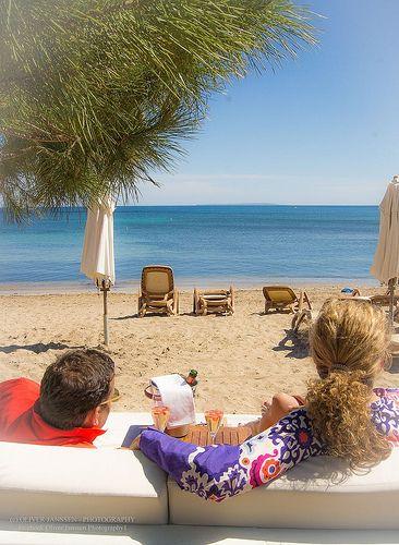 Ibiza restaurant Pura Vida, serving fine food on the beach