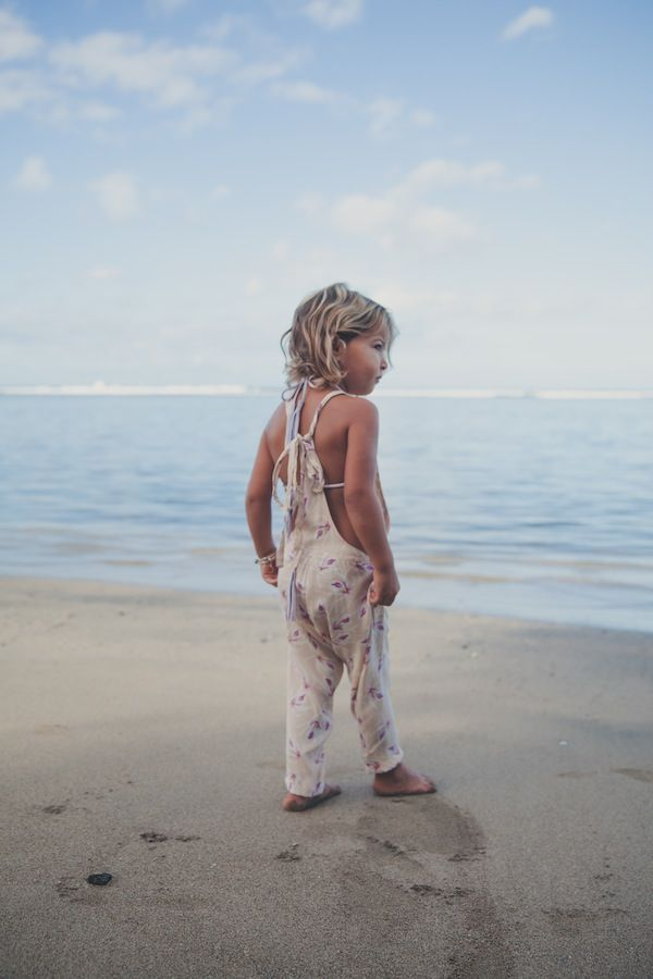 Acacia Honey | Canggu Honey Romper in Island Orchid | ACACIA SWIMWEAR from Salt Living