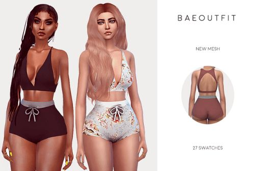B A E OUTFIT for The Sims 4