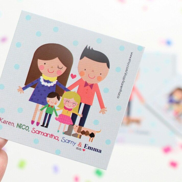 Gift tags personalized